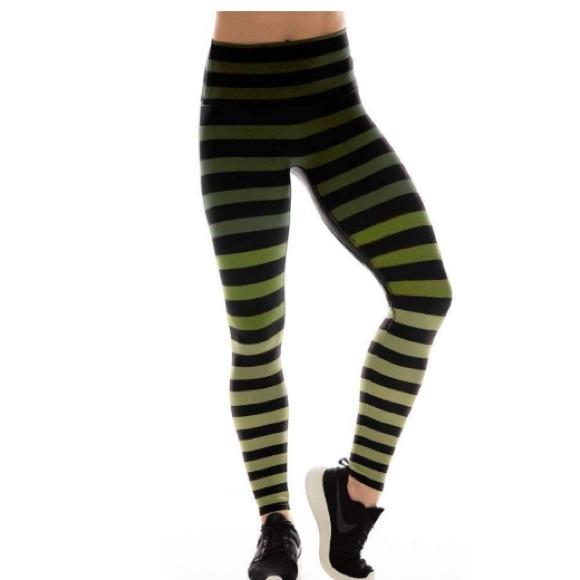 849b8b3ed017c K-DEER Pants | Kdeer Full Length Legging In Maranda Stripe | Poshmark